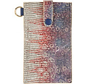 LOGO by Lori Goldstein Embossed Phone Sleeve with RFID - A287186