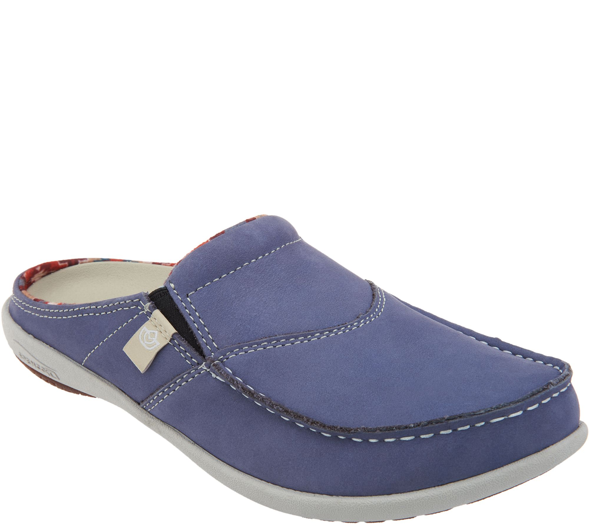 32fa4f6fc66 Spenco Orthotic Suede Slides -First Nation - Page 1 — QVC.com
