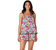 As Is Fit 4 U Ruffle Cami Tankini Swimsuit with Short - A345286
