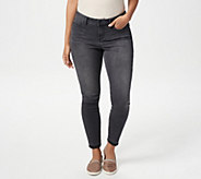 NYDJ Ami Skinny Ankle Jeans with Released Hem -Olympic - A346586