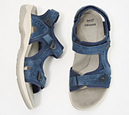 Earth Origins Suede Sport Sandals- Higgins Halton - A352486