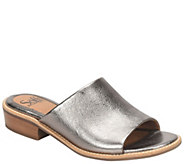 Sofft Leather Slide Sandals - Nola - A364986