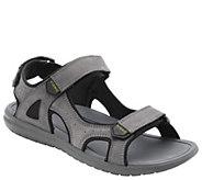 Vionic Mens Nubuck Adjustable Sandal - Neil - A413686