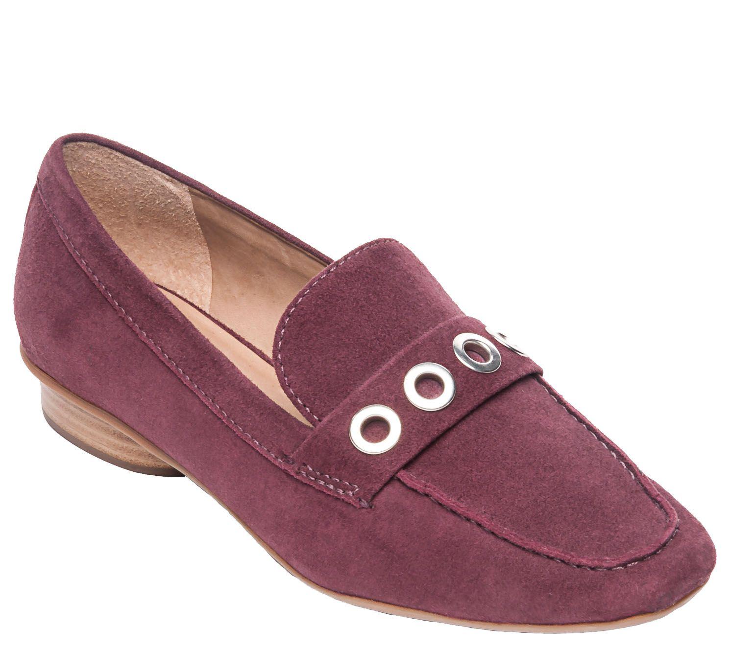 4752ac6e804 Bernardo Leather Loafers - Jaden — QVC.com