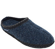 Minnetonka Womens Winslet Navy Clog Mule Slippers - A419786