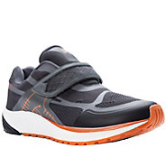 Propet Mens Lightweight Adjustable-Strap Sneakers - One Strap - A424786