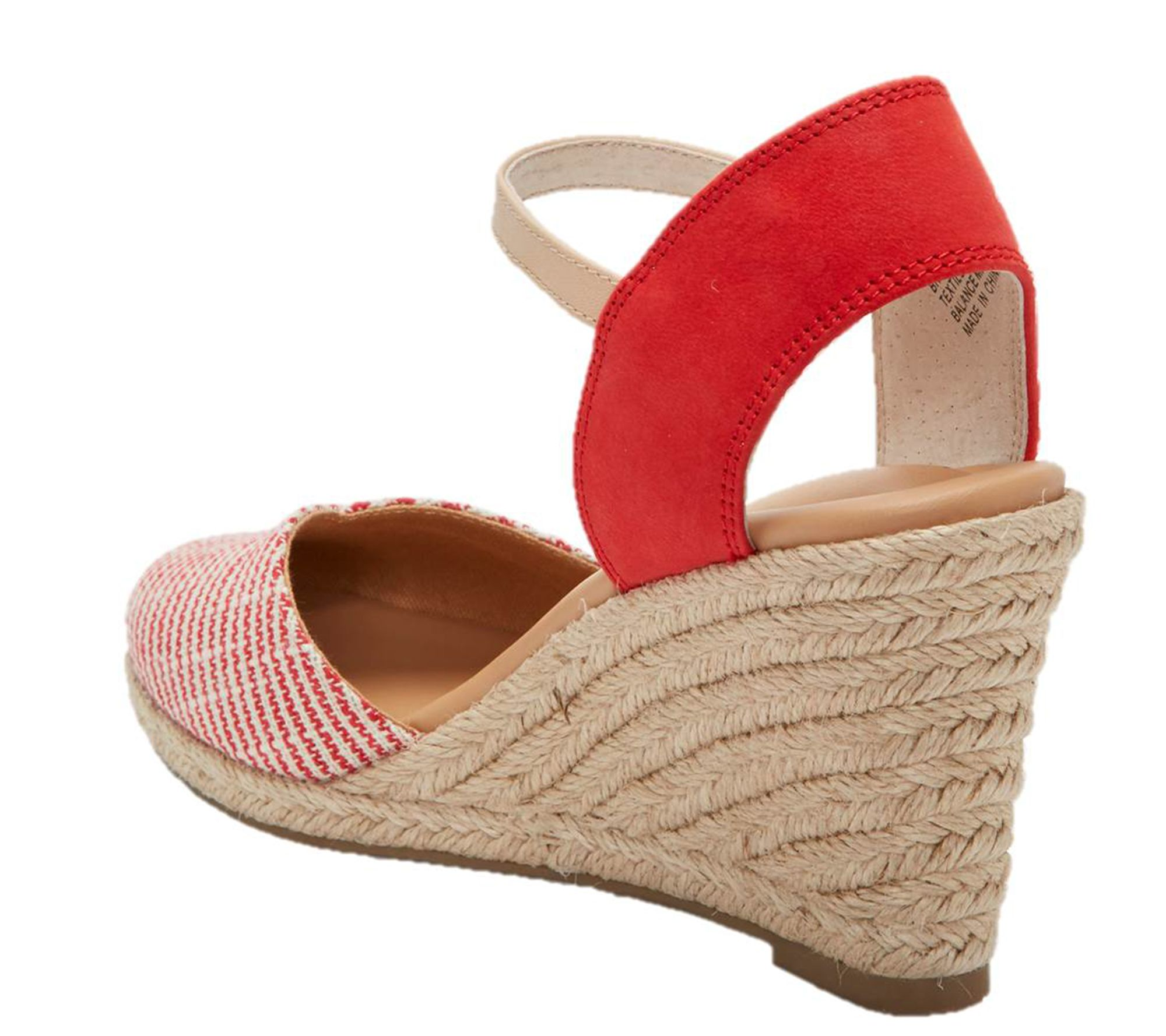 ee1bebf1ea5 Me Too Wedge Sandals - Brenna — QVC.com