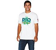 Olympics Rio Team USA 2016 Mens Short Sleeve T-Shirt - A284087