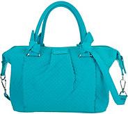 Vera Bradley Microfiber Hadley Satchel Handbag - A292887