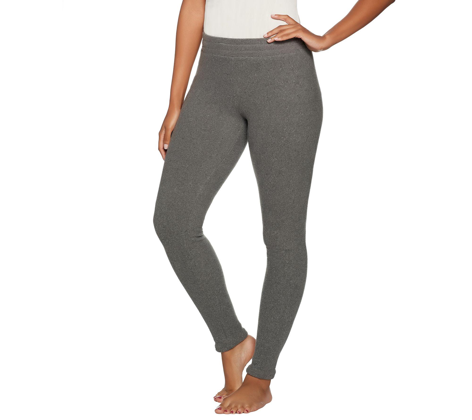c7dbe40b67cbea Cuddl Duds Fleecewear Stretch Leggings - Page 1 — QVC.com