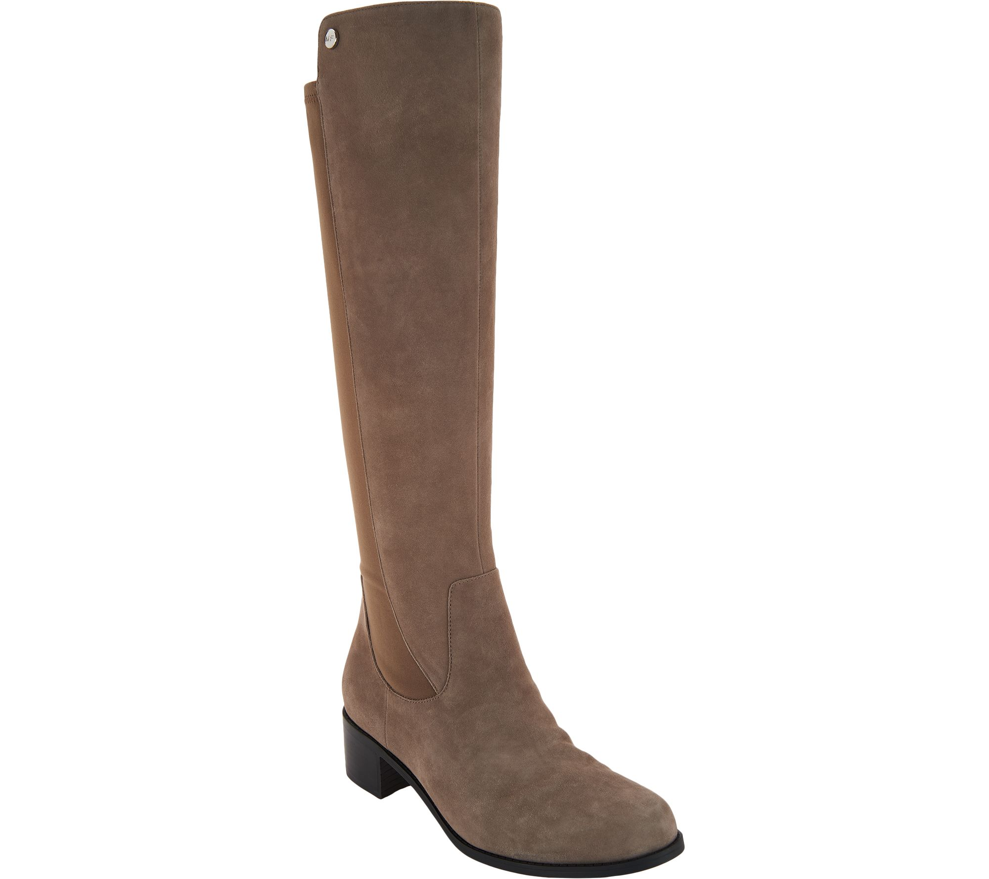 0cdd783a26f Marc Fisher Wide Calf Leather Tall Shaft Boots - Incept — QVC.com