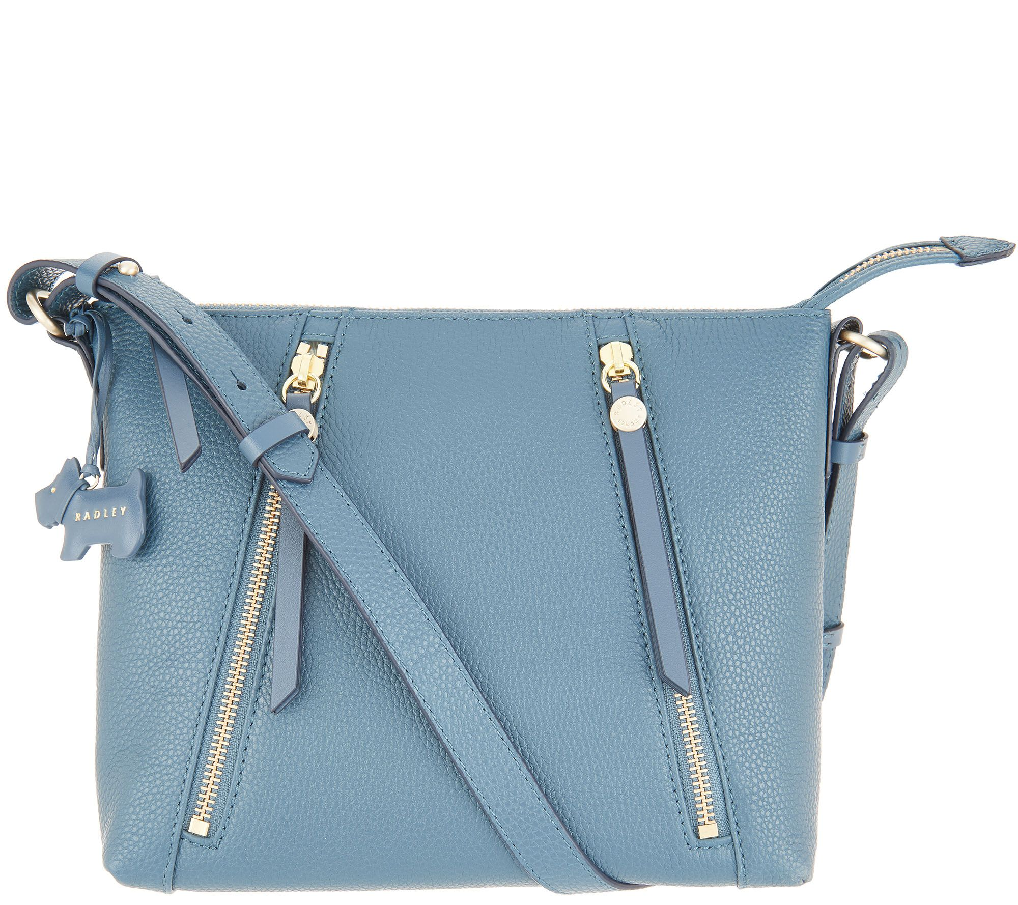 63a9e81ff1b1 RADLEY London Fountain Road Leather Crossbody Handbag - Page 1 — QVC.com