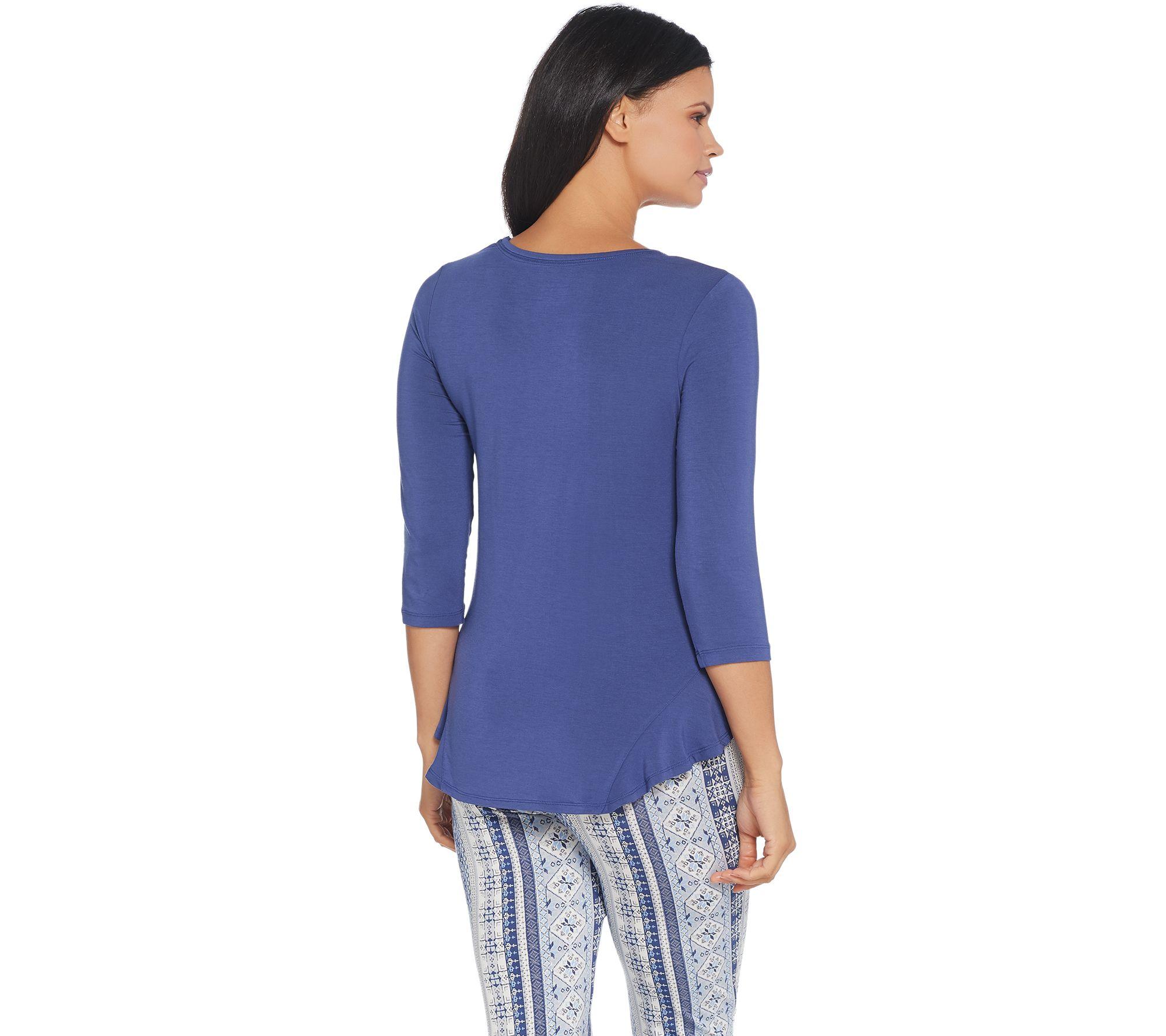Cuddl Duds Softwear Stretch Novelty Jogger Pajama Set