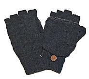 MUK LUKS Fairisle Flip Gloves for Men - A320487