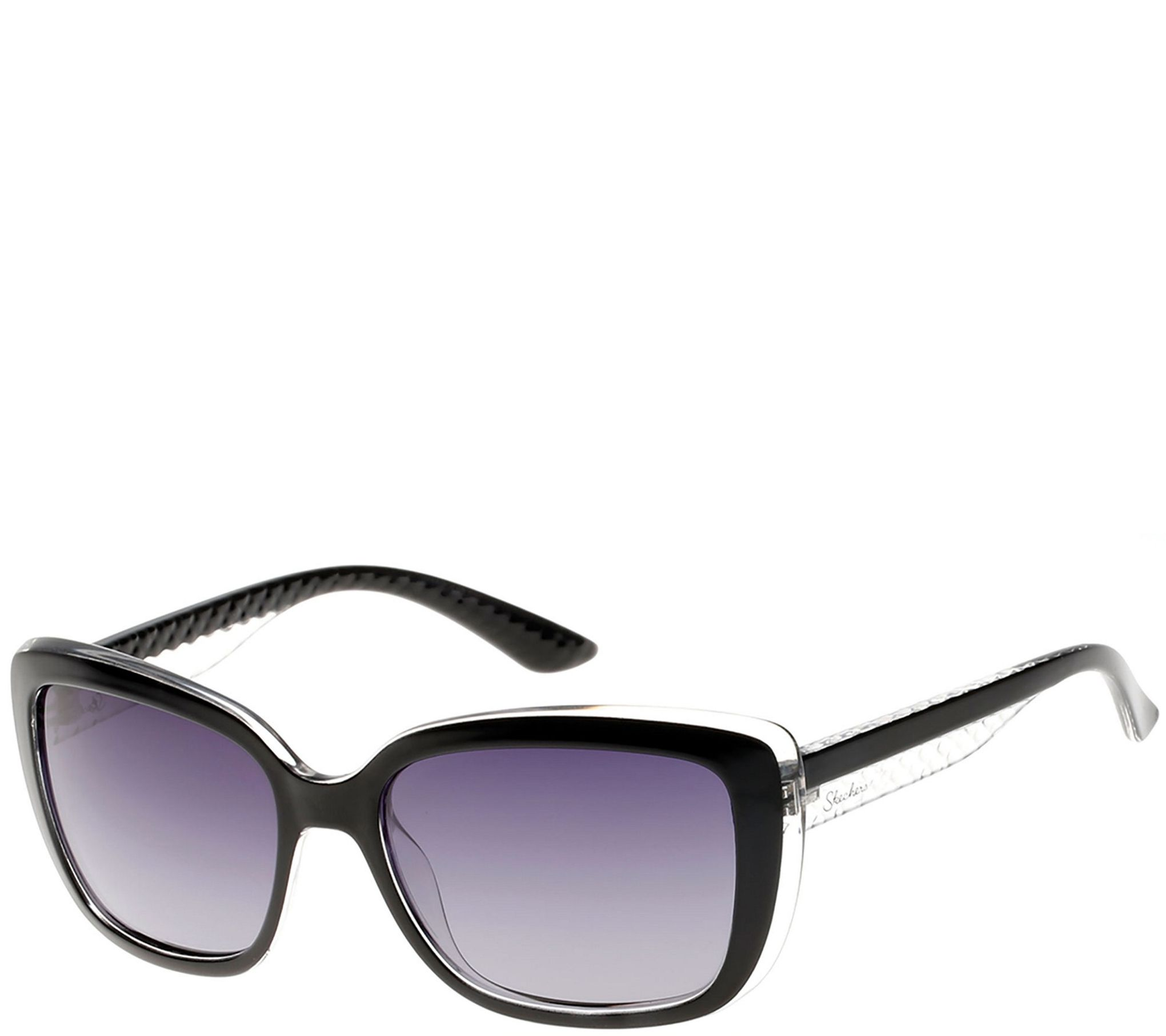 Skechers Women\'s Polarized Sunglasses - Black - Page 1 — QVC.com