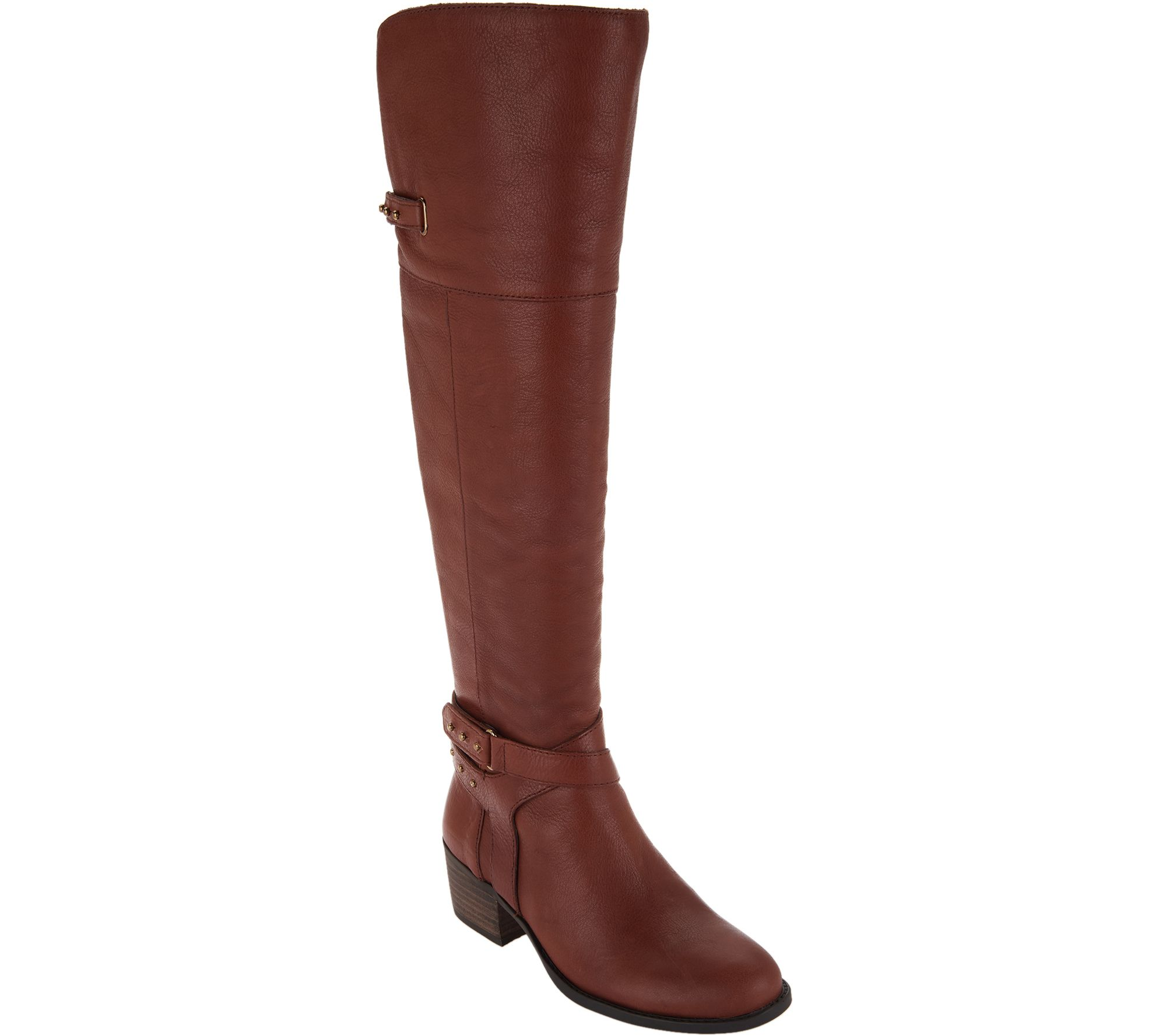 f6e6b3d886 Vince Camuto Leather Wide Calf Tall ShaftBoots - Bestant - Page 1 — QVC.com