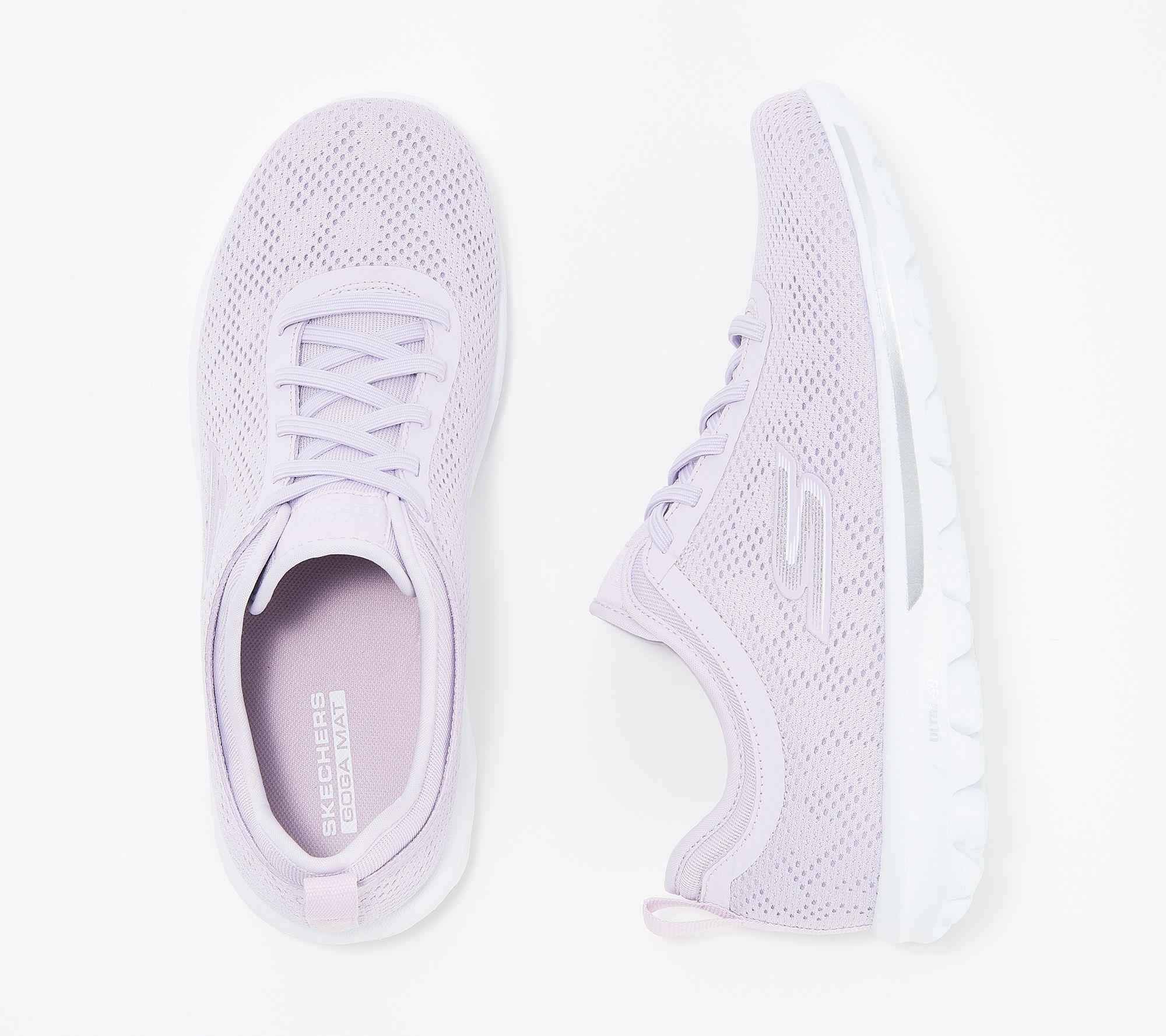 auf Lager um 50 Prozent reduziert verschiedene Stile Skechers Go Walk Gored-Lace Sneakers - Destiny — QVC.com