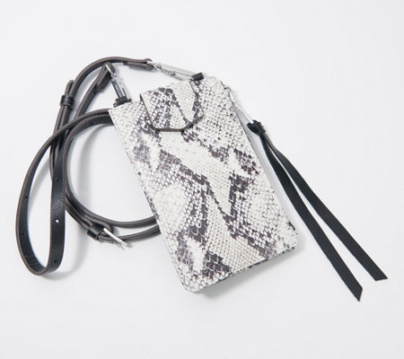 AimeeKestenberg Leather Phone Crossbody w/ RFID & Screen Access
