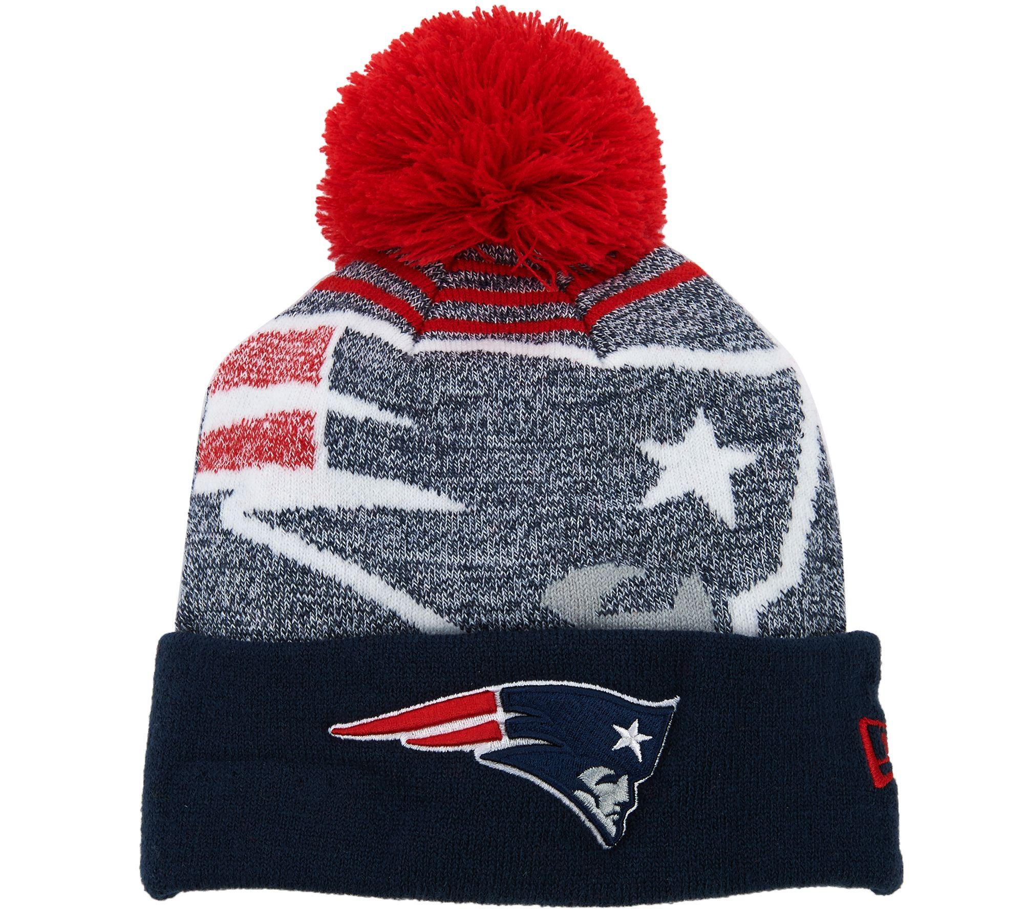 ... denmark nfl cuff knit hat with pom by new era page 1 u2014 qvc 9e087  91325 2ca59985026