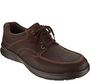 Clarks Mens Leather Lace-up Shoes - Cotrell Edge - A300788