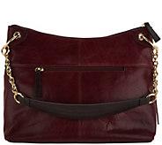 Tignanello Vintage Leather Newport Hobo Handbag - A300888
