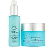 TULA by Dr. Raj Probiotic Overnight Treatment 2-Piece Set - A306988