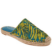 Marc Fisher Printed Espadrille Mules - Gift - A307988