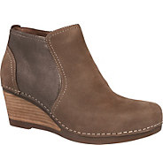 Dansko Leather Wedge Booties - Susan - A360888
