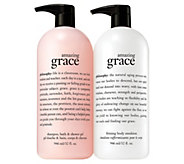 philosophy super-size shower gel & body lotion duo Auto-Delivery - A365588