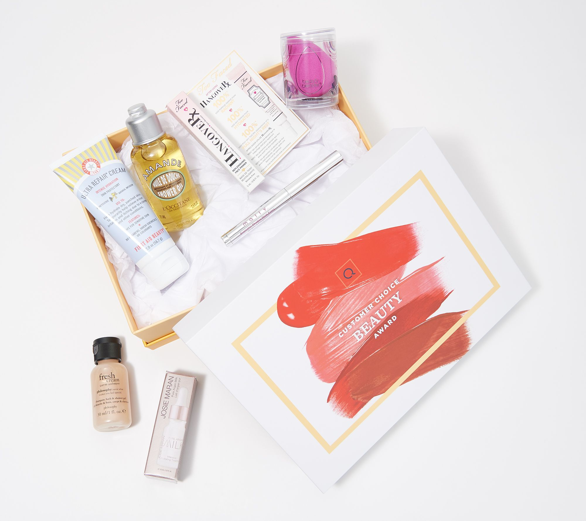 QVC Beauty Customer Choice 2019 Nominees 7-Piece Sample Collection — QVC com