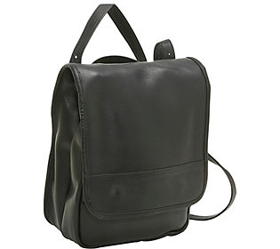 Le Donne Leather Convertible Backpack/ShoulderBag