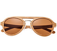 Earth Wood Cruz Polarized Sunglasses - A414288