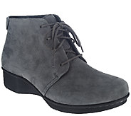 Dansko Stain Resistant Lace-up Ankle Boots -Lucille - A268689
