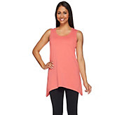 Denim & Co. Essentials Sleeveless Trapeze Hem Knit Top - A275289