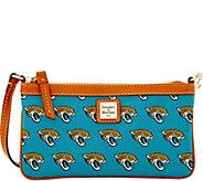Dooney & Bourke NFL Jaguars Large Slim Wristlet - A285789