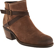 Bos. & Co. Water Resistent Suede Ankle Boots - Greenville - A299289