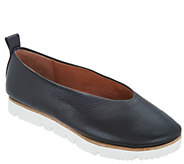 Gentle Souls Leather Slip-on Shoes - Demi - A303589