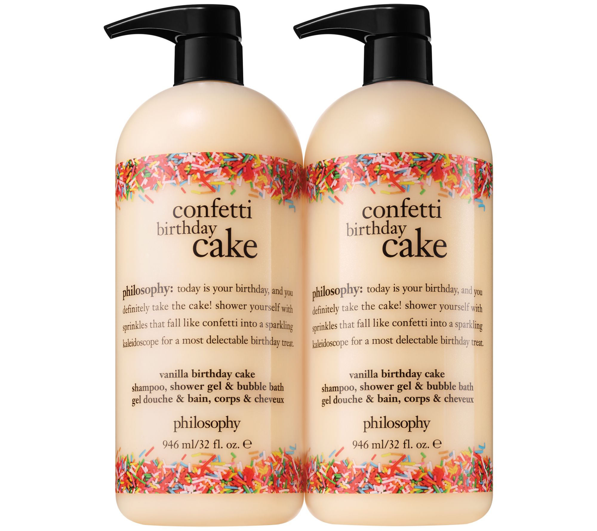 Philosophy Super Size Summer Fun Shower Gel Duo Page 1 Qvc
