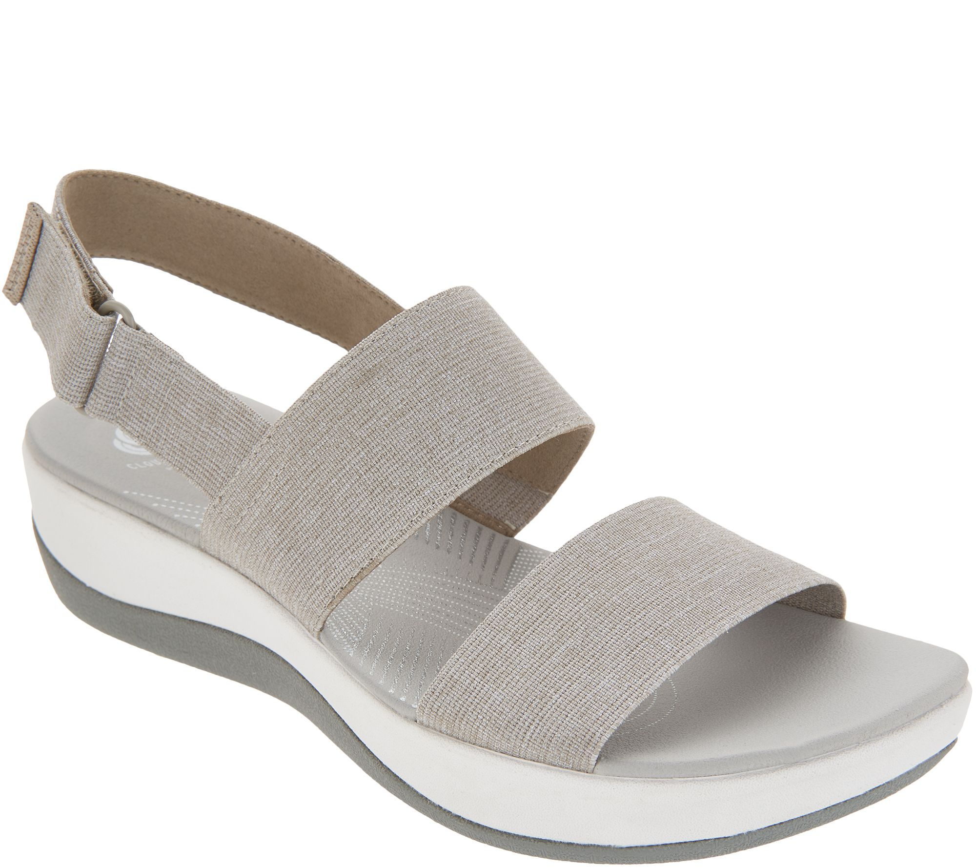 a976827059f3 CLOUDSTEPPERS by Clarks Sport Sandals - Arla Jacory - Page 1 — QVC.com