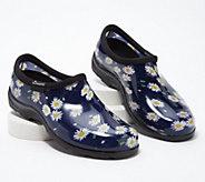 Sloggers Waterproof Daisies Comfort Garden Shoe - A349289