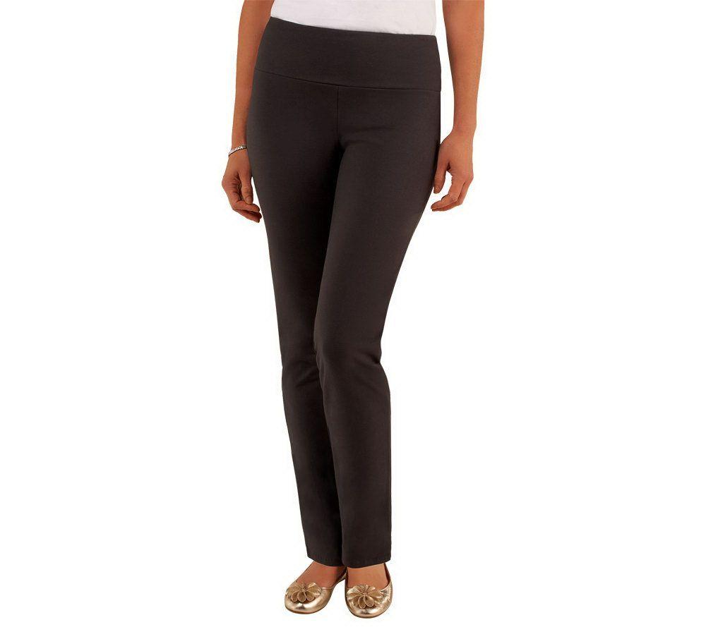 3dad129b8a1c0 Women with Control Petite Slim Leg Pants w/Tummy Control - Page 1 — QVC.com