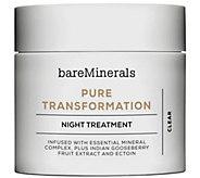 bareMinerals Pure Transformation Night Treatment - A277090