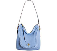 As Is orYANY Pebble Leather Hobo - Cathy - A283990