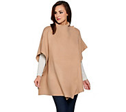 Attitudes by Renee Convertible Sweater Knit Poncho - A284290