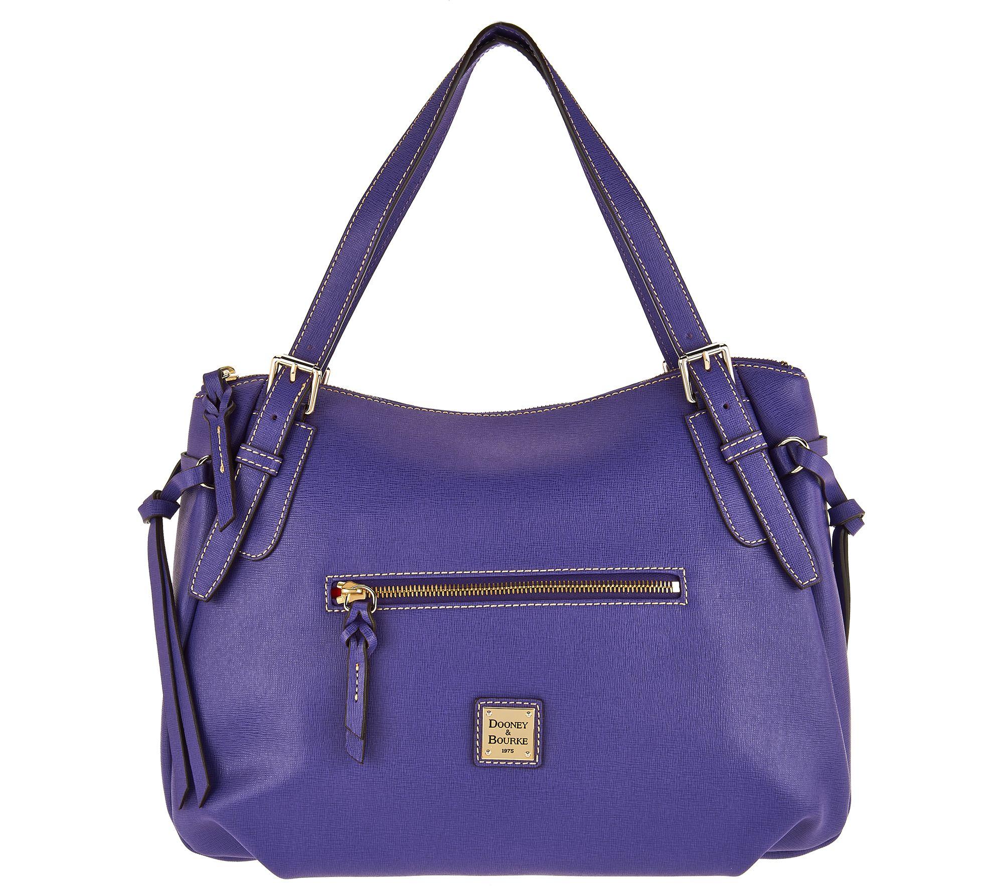df61ad0f8d22 Dooney & Bourke Saffiano Large Nina Shoulder Bag - Page 1 — QVC.com