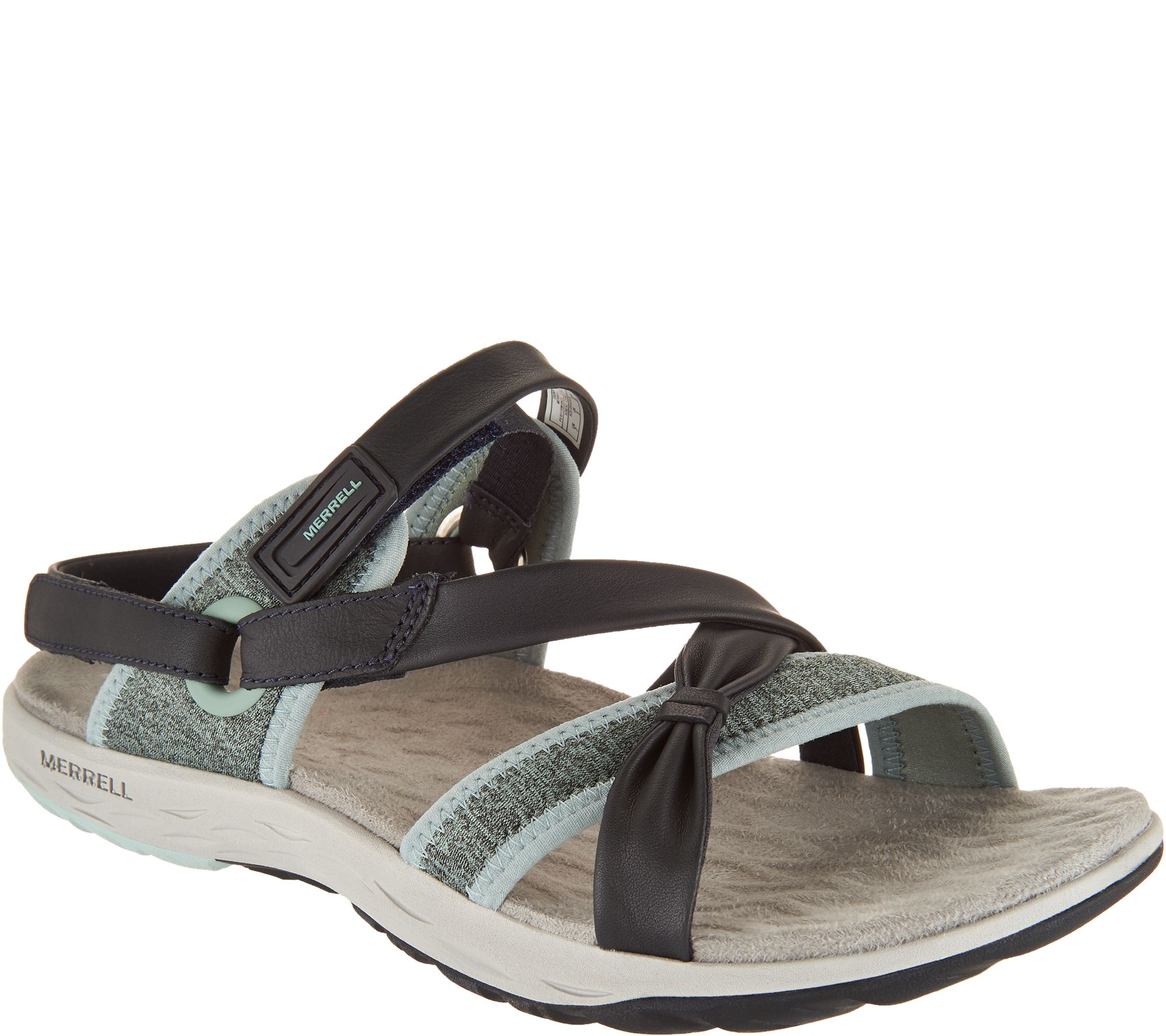 5dd4c1b512db Merrell Leather Sport Sandals - Vesper Lattice - Page 1 — QVC.com