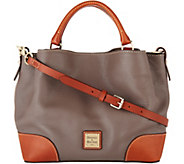 Dooney & Bourke Pebble Leather Small Brenna Satchel - A300490