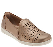 Earth Origins Perforated Slip-on Shoes - Celeste - A304190