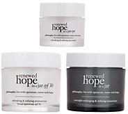 philosophy renewed hope moisture trio am/pm & eyes - A307690