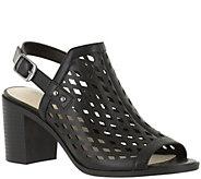 Easy Street Block Heel Sandals - Erin - A357190